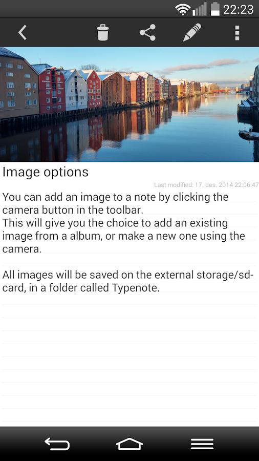 TypeNote - note / folder - screenshot