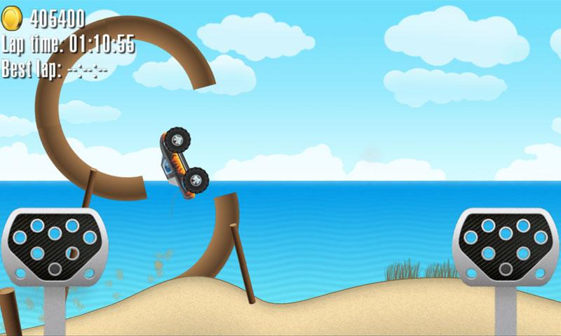 Crazy Wheels: Monster Trucks- screenshot