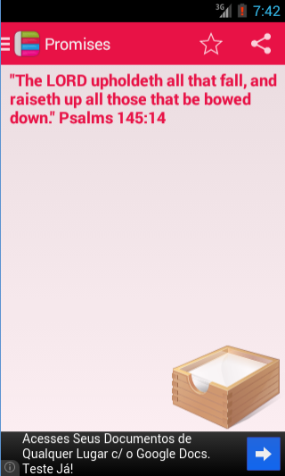 Bible Promise Box - screenshot