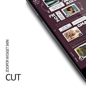 Cut Zooper Widget Skin v1.0 APK