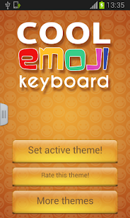 Cool Keyboard with Emoji - screenshot thumbnail