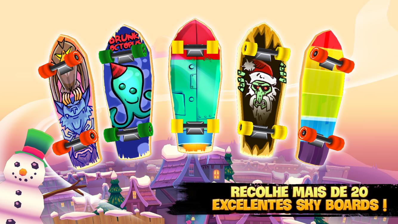 Skyline Skaters - screenshot
