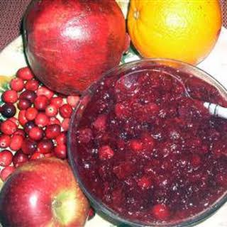 Cranberry Pomegranate Sauce.