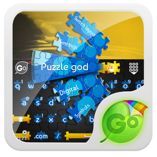 神之謎 GO Keyboard Theme 個人化 App Store-愛順發玩APP