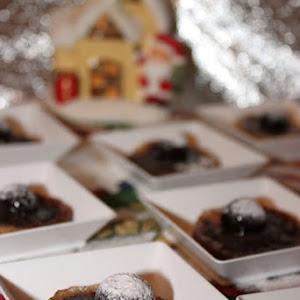 Sour Cherry and Chocolate Mini-Tatins