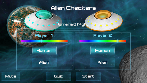 Alien Checkers