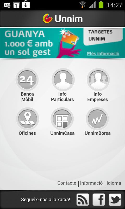Unnim - screenshot