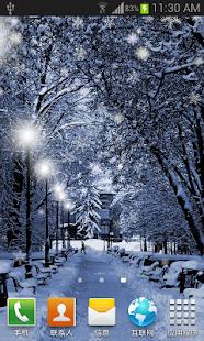 冬季聖誕雪景動態桌布 FREE PRO