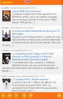 Screenshot of Bande Dessinée Info