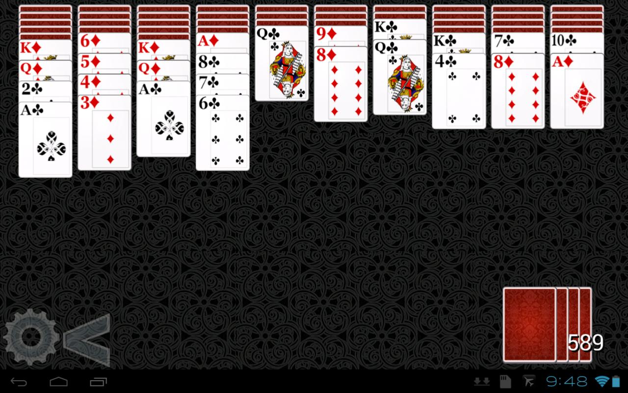 Spider Solitaire HD 2- screenshot