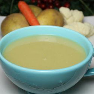 Healthier Potato and Cauliflower Soup