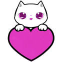 Lily Kitty Heart LiveWallpaper icon