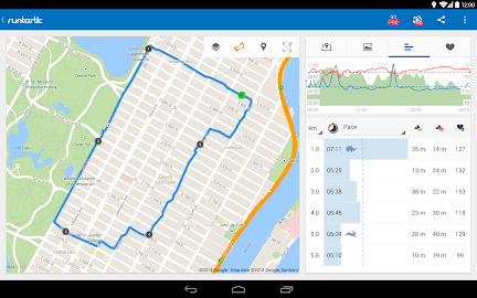 Runtastic Running & Fitness Screenshot 4