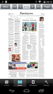 Daily Reporter E-Edition- screenshot thumbnail