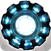 Arc Reactor Battery Widget icon