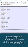Screenshot of Ayuda PSU Matemáticas
