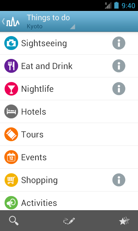 Kyoto Travel Guide by Triposo - screenshot