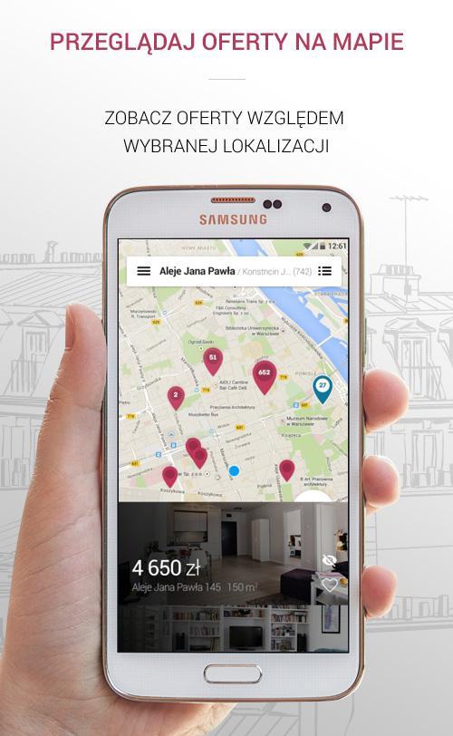 Morizon - nieruchomości- screenshot