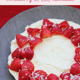Strawberry No-Bake Cheesecake