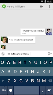 Fleksy + GIF Keyboard Screenshot 8