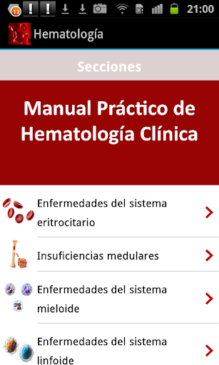 【免費醫療App】Manual Práctico de Hematología-APP點子