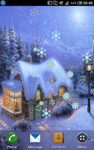 Snow Winter Live Wallpaper