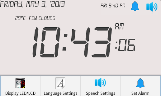Clock Talk 2 Free - screenshot thumbnail