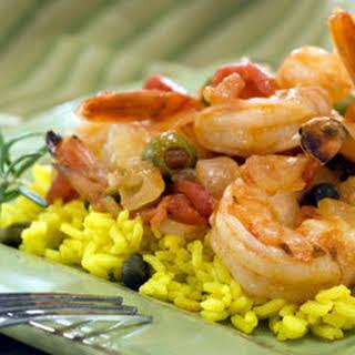Spicy Spanish Shrimp.