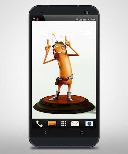 3D Funny Ant Live Wallpaper