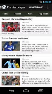 برنامه اخبار فوتبال FotMob v12.2