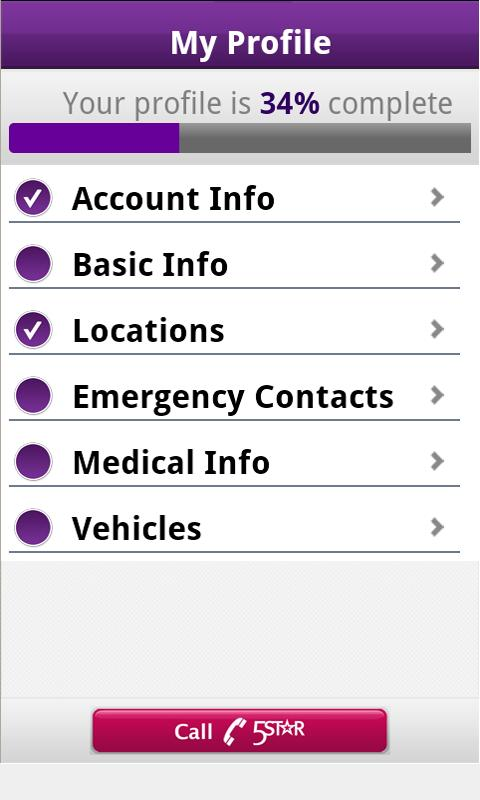 5Star Urgent Response With GPS- screenshot