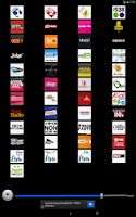 Screenshot of Radios Netherlands