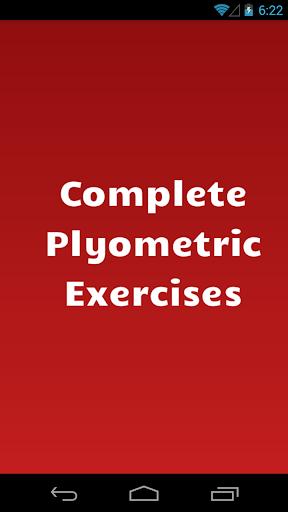 Complete Plyometric Exercises