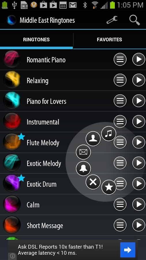 Middle East Ringtones - screenshot