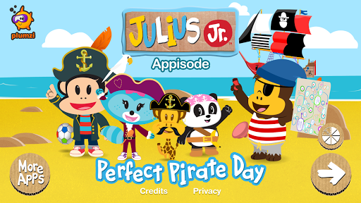 Julius Jr. Appisode Pirate Day