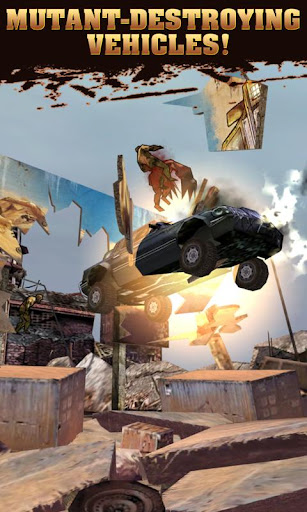 MUTANT ROADKILL v1.0.0 Apk ����� ��� ������ !!!