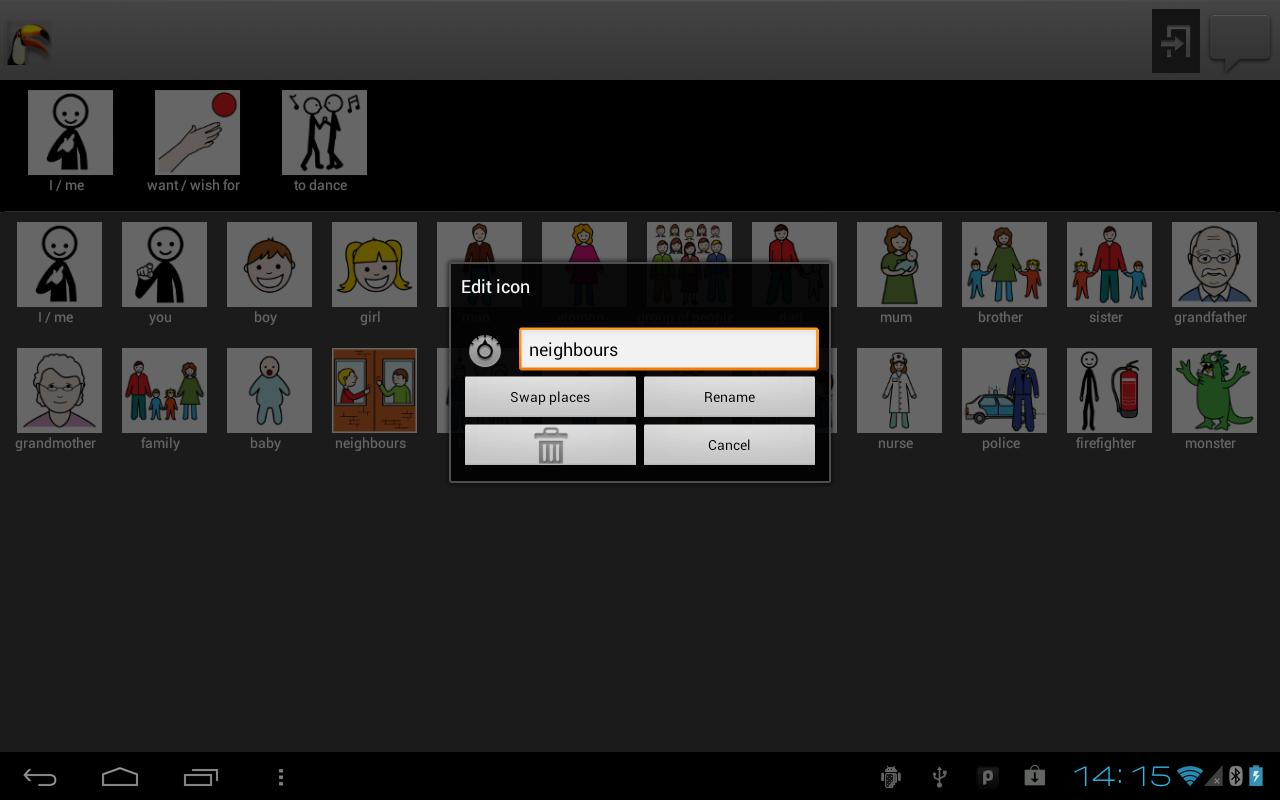iToucan Talk (Autism) Beta - screenshot