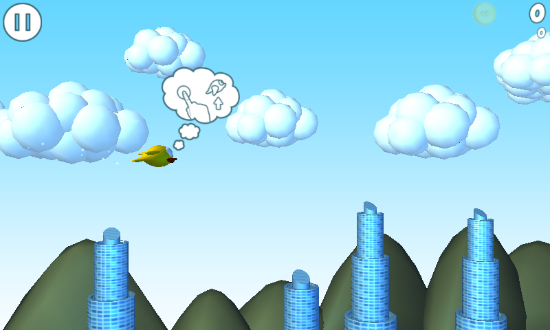 Tweety High Fly 3D- screenshot