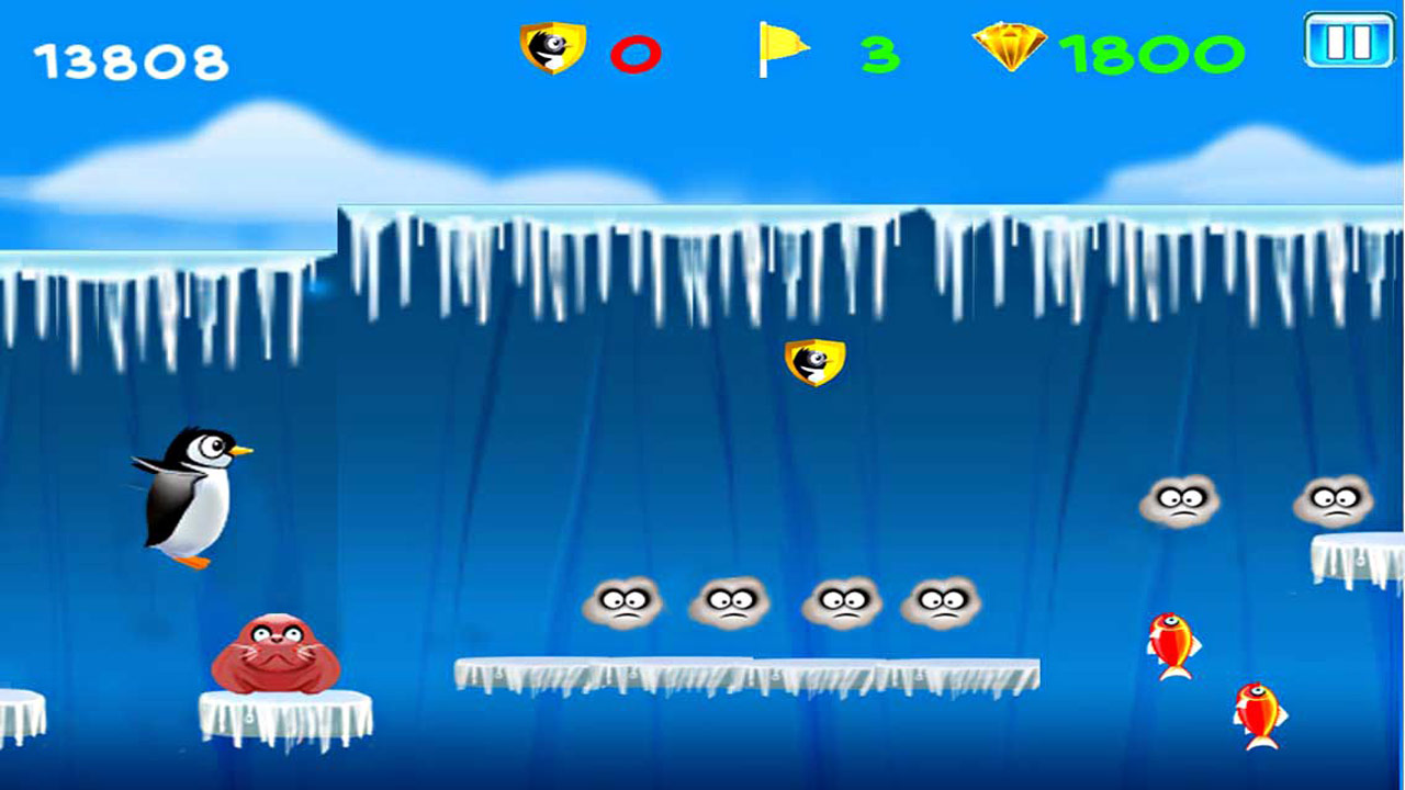 Run Kelvin - Penguin Run- screenshot
