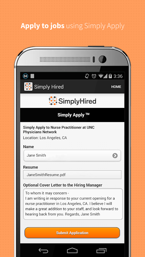 Job Search - Simply Hired - screenshot