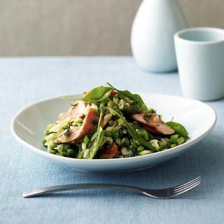 Salmon & Orzo Salad.