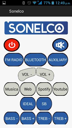 Control de Sonido Sonelco