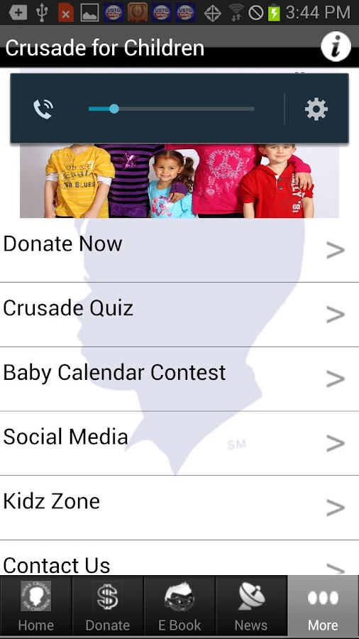 WHAS Crusade for Children- screenshot