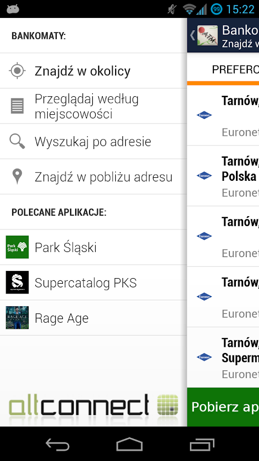 Bankomaty - screenshot