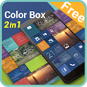 (FREE) Color Box 2 In 1 Theme icon