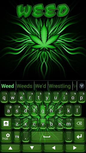 玩個人化App GO Keyboard Weed免費 APP試玩