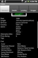 Screenshot of GCstar Viewer