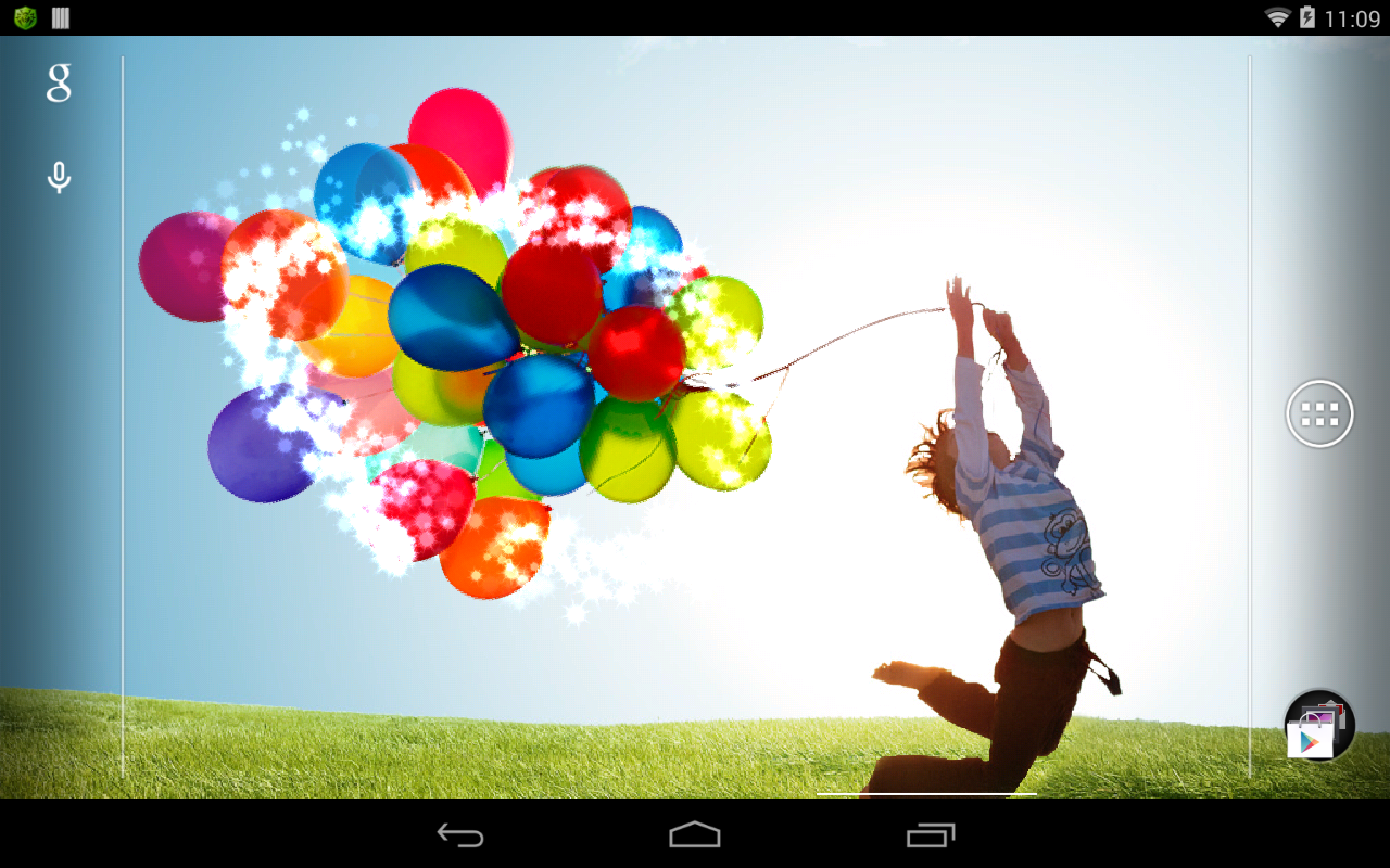 Galaxy S4 Balloon - screenshot