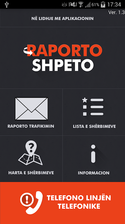 Raporto Shpeto- screenshot