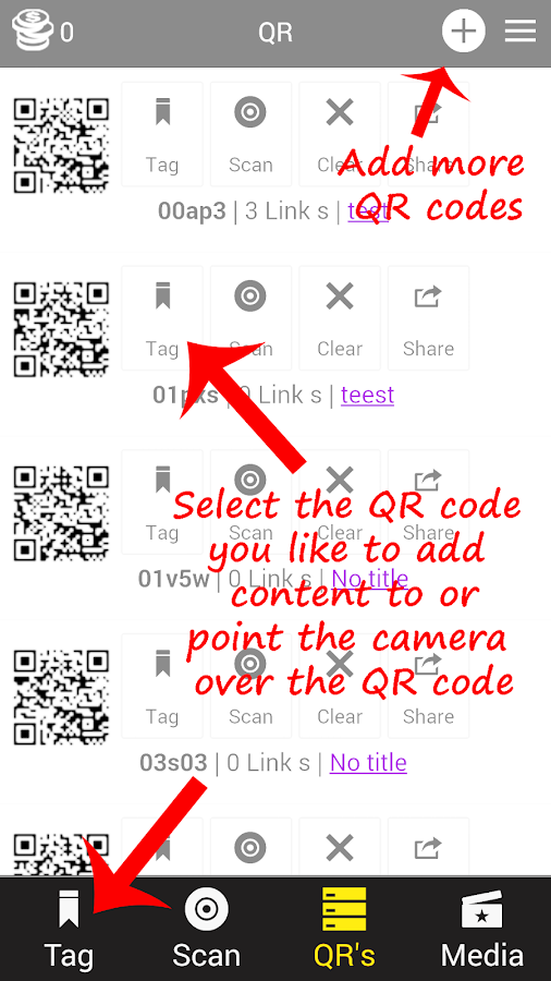 SMART QR CODE SCANNER - screenshot
